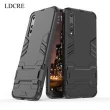 sFor Huawei P20 Pro Case, LDCRE Hard Back Rubber Coque Phone Cover Case for For