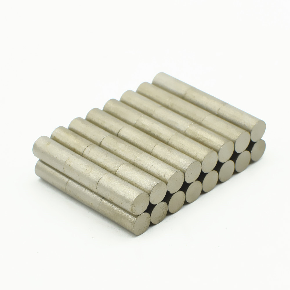 48pcs SmCo Magnet Disc Dia 5x10 mm rod cylinder grade YXG24H 350 degree C High Temperature