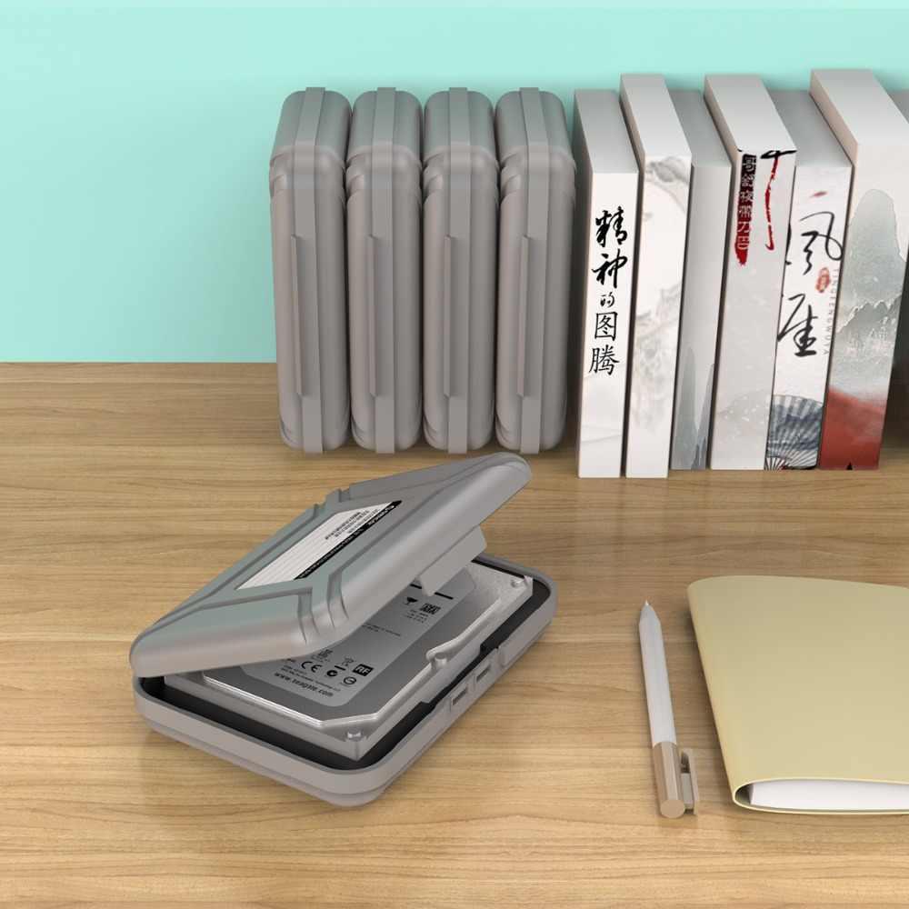 ORICO PHX-35 Eenvoudige HDD Bescherming Doos Case Cover voor 3.5 Inch Harde Schijf Case Waterdichte Functie Draagbare Harde Schijf Doos