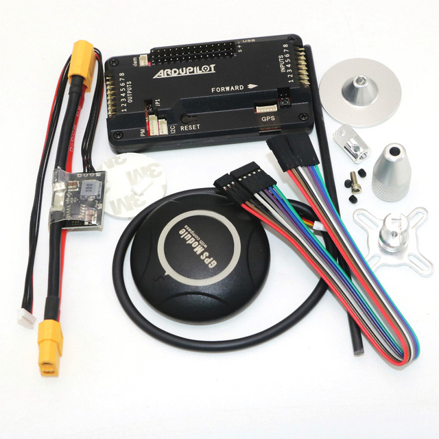 APM 2.8 ArduPilot Mega  Internal compass APM Flight Controller Built in Compass with 7M GPS for FPV RC Drone Aircraft