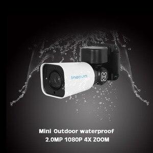 Image 4 - Inesun Outdoor PoE PTZ IP Security Kamera 2MP HD 1080P 4X Optische Zoom IP66 Wasserdichte 120ft IR Nacht Vison bewegungserkennung