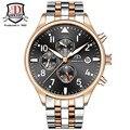 2017 Luxury Brand Stainless Steel Strap Analog Display Date Men's Quartz Watch Casual Watch Men Watches relogio masculino