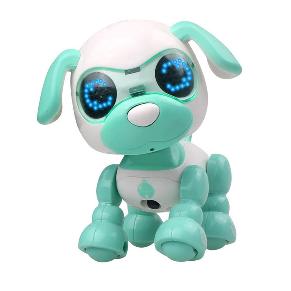 Многоцветная ABS декоративная головоломка электрическая собака музыкальная собака практическая говорящая головоломка игрушка для собаки Красивая домашняя развивающая - Цвет: green