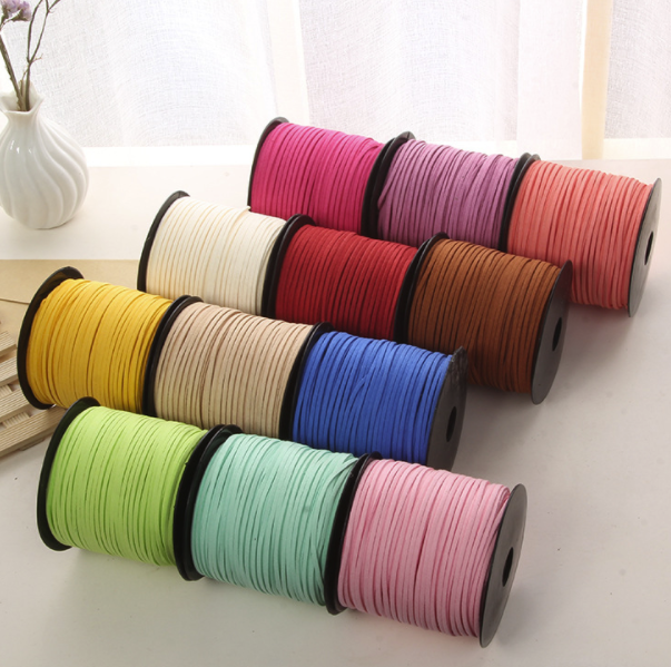 """Taupe gray 80B 144 Yard spool draw string rope Aprox 3//16/"""" Braided Cotton Cord"""