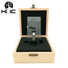 1 pcs อัตโนมัติ Tonearm Lifter แขนยกสำหรับ LP แผ่นเสียงแผ่นบันทึกไวนิลไม้บรรทัดไม้กล่องบรรจุภัณฑ์