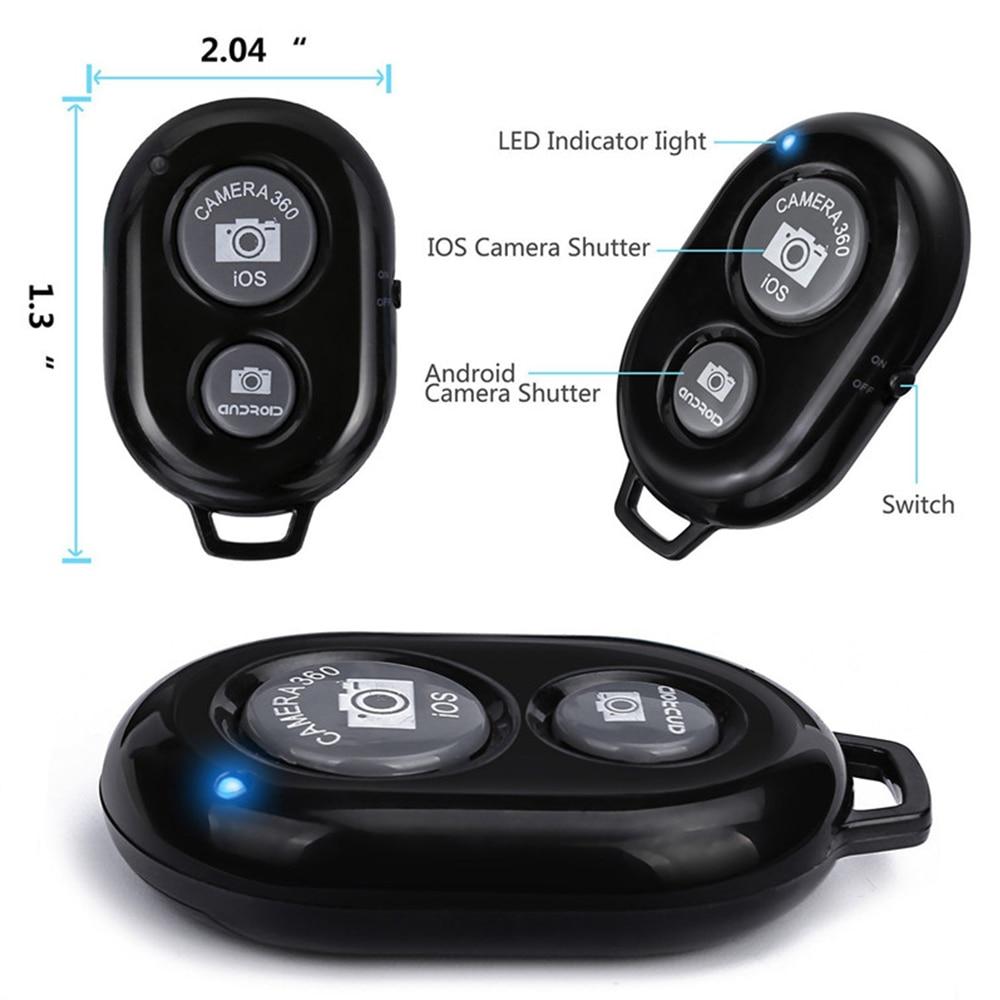 1/4 универсальный портативный алюминиевый штатив для цифровой камеры с винтовой головкой для телефона с Bluetooth пультом дистанционного управл...