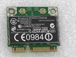 Oryginalna nowa karta bezprzewodowa Broadcom BCM4313 BCM94313HMGB pół Mini PCI-E 802.11b/n karta Wifi Bluetooth4.0 dla HP 657325-001