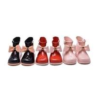 Cô gái mưa Boot trẻ em giày bow-knot kẹo mùi bé todder đáng yêu mini melissa thời trang khởi động không slip nước giày Sapato