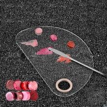 1 шт., палитра теней для век, пустая основа, консилер, пудра, инструмент для смешивания, палитра для макияжа, косметический шпатель для макияжа