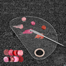 1Pcs Eyeshadow Palette Empty Foundation Concealer Powder Pan Mixing Tool Make Up Color Palettes Cosmetic Makeup Spatula Pans