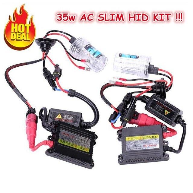 Xentec Hid Wiring Diagram 9007 1998 Club Car Golf Cart H4 Bulb Dual Slim Third Co Aliexpress Com Buy 35w Ac Xenon Kit 2 H13 9004