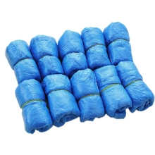 One-time Waterproof 100PCS Medical Waterproof Boot Covers Plastic Disposable Shoe Covers Overshoes