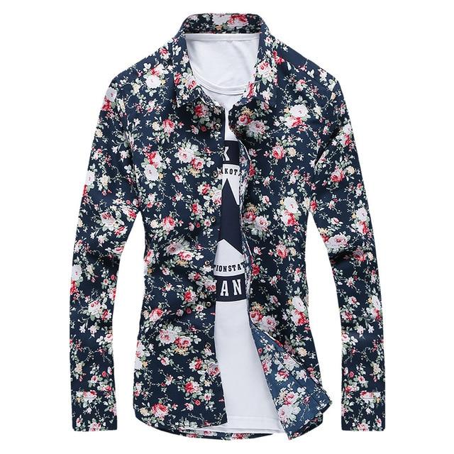 2019 Fashion Shirt Men's Long Sleeve 2018 Autumn day 5