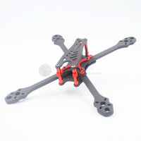 ALFA Monster 6mm Pure Carbon Fiber 5/6/7 inch Freestyle stretch X Quadcopter Frame kit for DIY RC FPV racing Drone