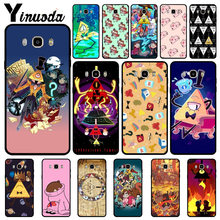 Yinuoda Anime Gravity Falls Keluarga Mewah Fashion Cell Phone Case untuk Samsung 2015J1 J5 J7 2016J1 J3 J5 J7 Note3 4 5 Shell(China)