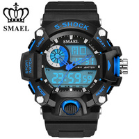 Fashion Watch Men G Style Waterproof LED Sports Military Army Watches Shock Men's Analog Quartz Digital Watch relogio masculino