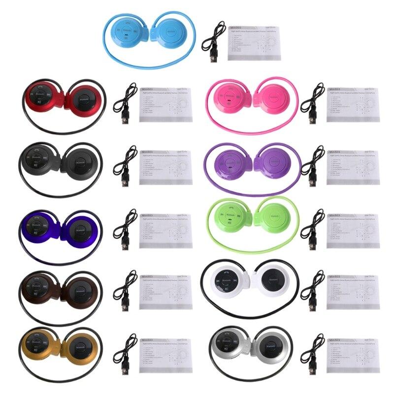 Ootdty мини <font><b>503</b></font> Ушные крючки Беспроводной <font><b>bluetooth</b></font>-гарнитура спортивные наушники TF слот MP3-плееры