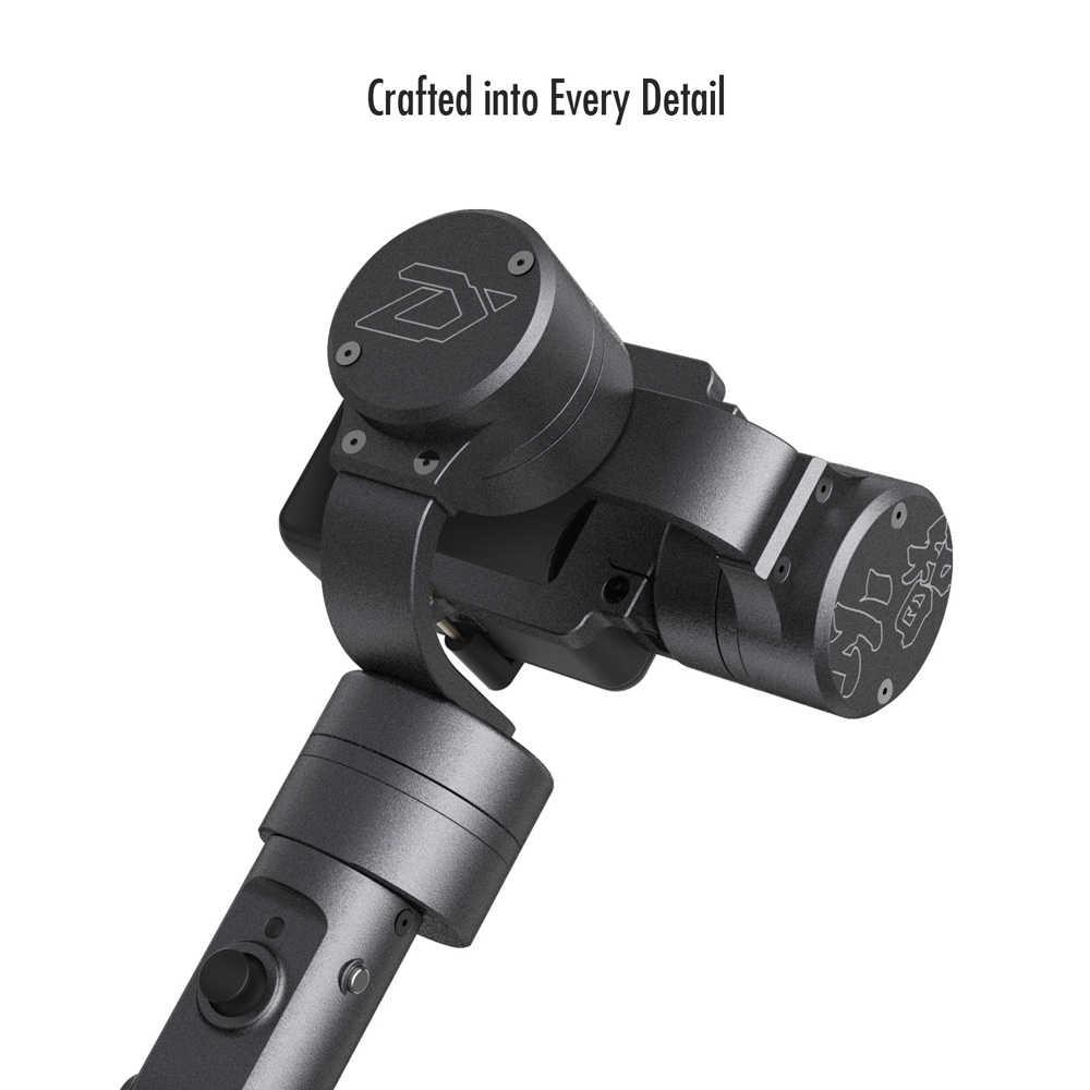 ZHIYUN oficjalna ewolucji 3 osi sportowe kardana ręczna stabilizator dla gopro Hero/Yi 4 K/EKEN/SJCAM/Xiaomi kamery sportowej
