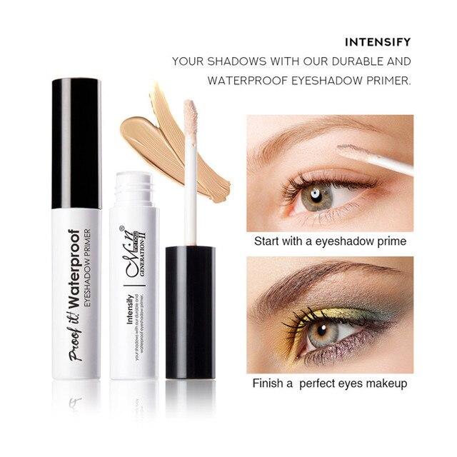 Korean Cosmetics Eyeshadow Primer for Eyes Base Foundation Makeup Liquid Freckle Covering Primer Waterproof Concealer Make up 1