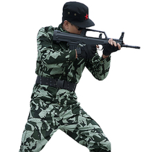 Mens Military Camouflage Uniforms Jacket+ Pants Special Army Tactical Outdoor Hunting Combat Clothes Camping Hiking Suit CS Sets