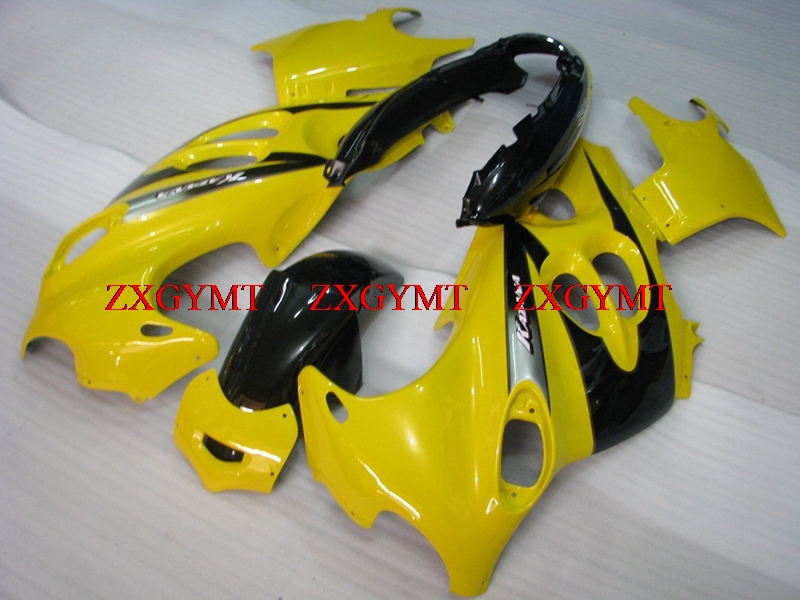 Fairings for GSX600F 1998 - 2006 Katana Bodywork GSX 600F 98 99 Yellow Black Fairings GSX600F 2001Fairings for GSX600F 1998 - 2006 Katana Bodywork GSX 600F 98 99 Yellow Black Fairings GSX600F 2001