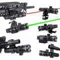 WIPSON Новый тактический внешний Cree зеленый красный точечный лазерный прицел Регулируемый переключатель прицел с рельсовым креплением для ох...