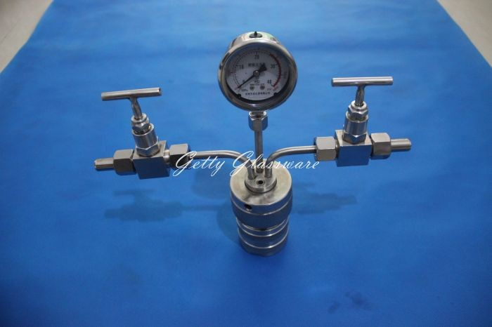 50ml Hydrothermal synthesis Autoclave Reactor Digestion high-pressure tank heterocyclic synthesis by microwave techniques