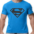 2016 Summer brand COTTON tee shirt short sleeve mens t-shirt print casual men tshirt superman print men t shirt Free shipping