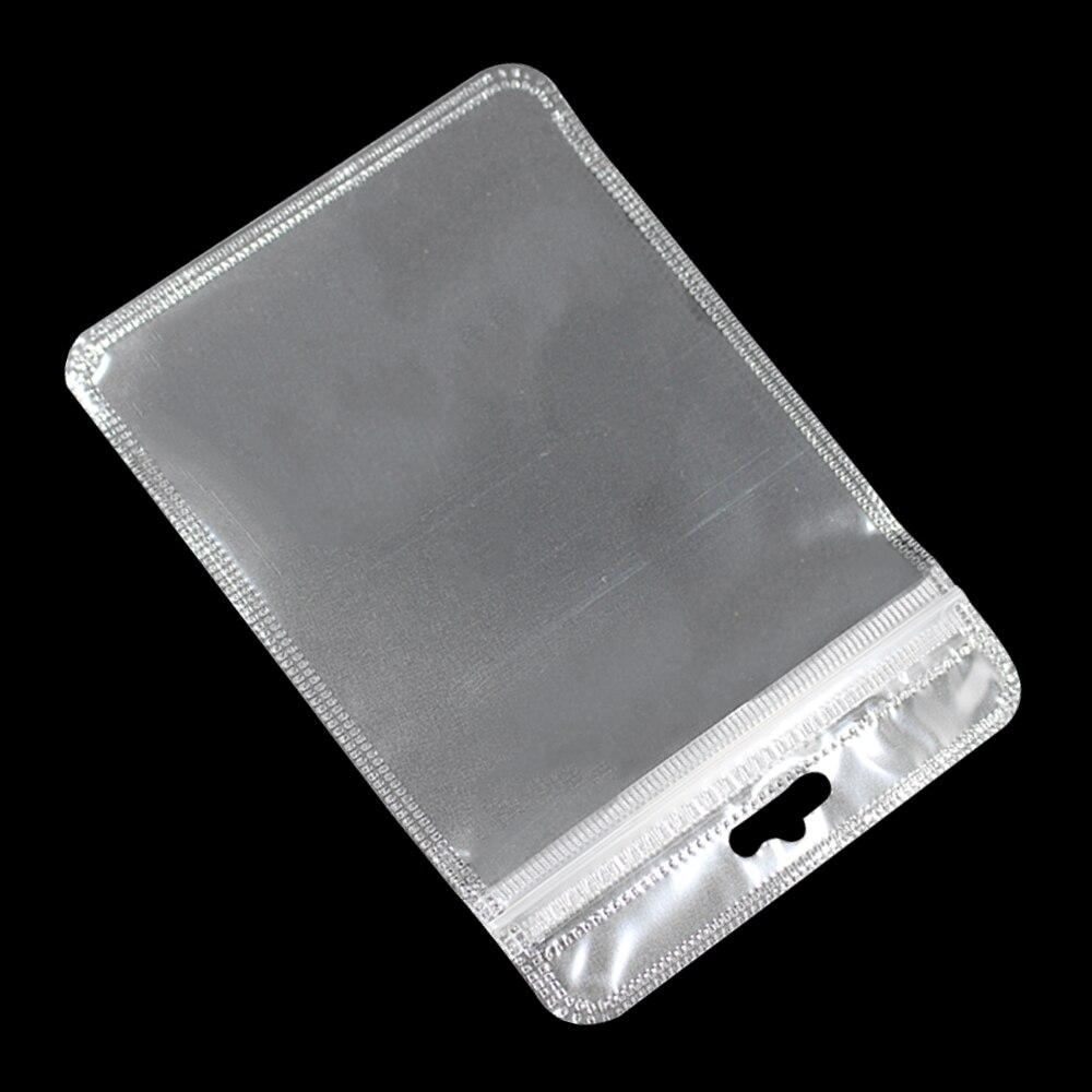 3000 uniunids/lote bolsas de plástico transparente Ziplock con Euro agujero para colgar bolsas de polietileno con cremallera resellable para llaves accesorios de banda de goma-in Bolsas de almacenamiento from Hogar y Mascotas    3