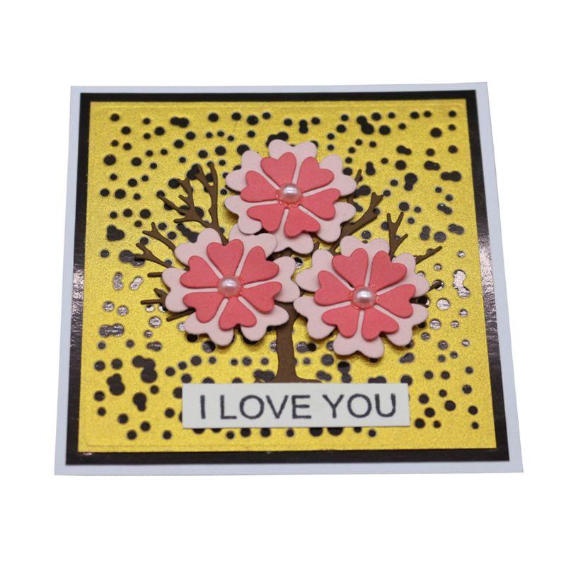for Scrapbooking Album Invitation Card Embossing DIY Craft Die Glitter Papers Art Metal Cutting Dies Stencils