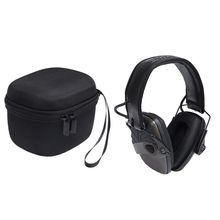 Storage Bag Carrying Box Case Organizer Cover Pouch Shell Waterproof Shockproof Travel for Howard Leight Earmuff Genesis Sharp-S