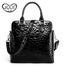 The new head of the cowhide womens vertical paragraph handbag a variety colors fashion trend zipper Messenger bag