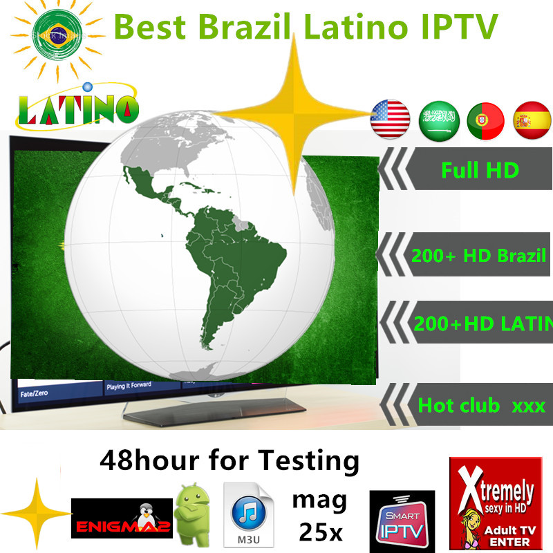 HD IPTV brasil TV Latin Spain USA Arabic Portuagal 1200 channels IPTV subscription live IPTV abonnement