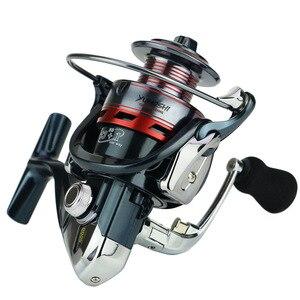 Image 4 - Deshion 13 + 1BB pas cher pêche sattaque à la filature roues de pêche 1000 7000 série bobine de pêche pour la pêche au bar