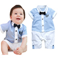 Venta caliente la ropa del bebé determinado del bebé cielo azul camisa top + short pantalones chicos vestido ropa de bebe ropa niños set juego de los cabritos