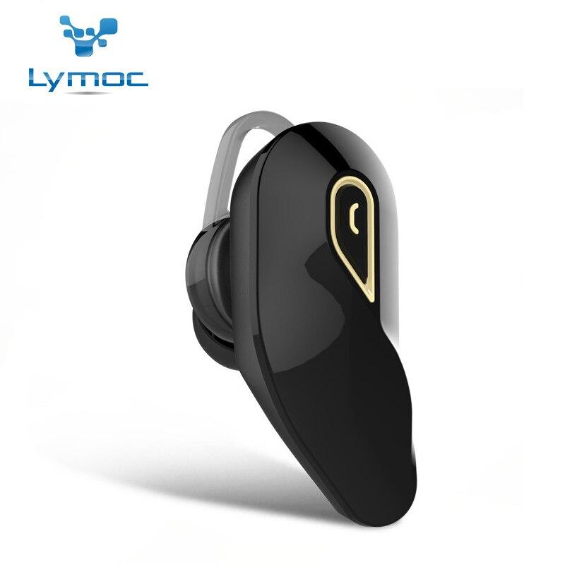 Lymoc Y96 Memory Foam Ear Pads Bluetooth Headsets Wireless Mini In Ear Earphone CSR4.1 Handsfree HD MIC Universal for Phone