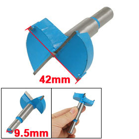Подробнее о 42mm Diameter Forstner Tip Hinge Boring Bit Drilling Tool for Carpentry 15-100mm Dia Blue Gray Cutter uxcell carpentry 65mm tip blue gray metal hinge boring drill bit