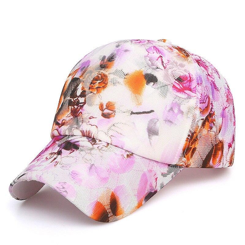 100% Wahr Frauen Baseball Kappen Druck Hip-hop-kappe, Frau Sun Caps, Blume Mit Hut Gorras Sommer Kappen Für Frauen Hysterese Hut
