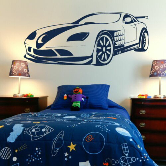 Aliexpresscom Buy Cool Super Sports Vehicle Car Home Kids Room - How to make vinyl car decals at home