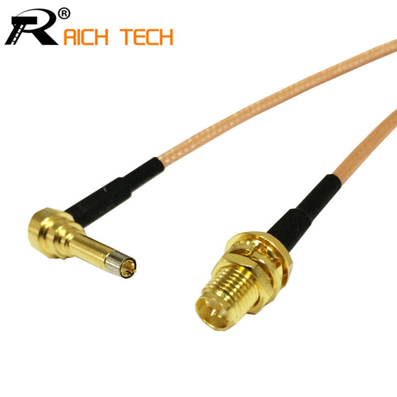 RF RP SMA Female Switch 3G Modem Connector Cable Assembly For LTE Yota One LU150/Huawei E1550 E171 E153/ZTE MF100 MF180 15CM