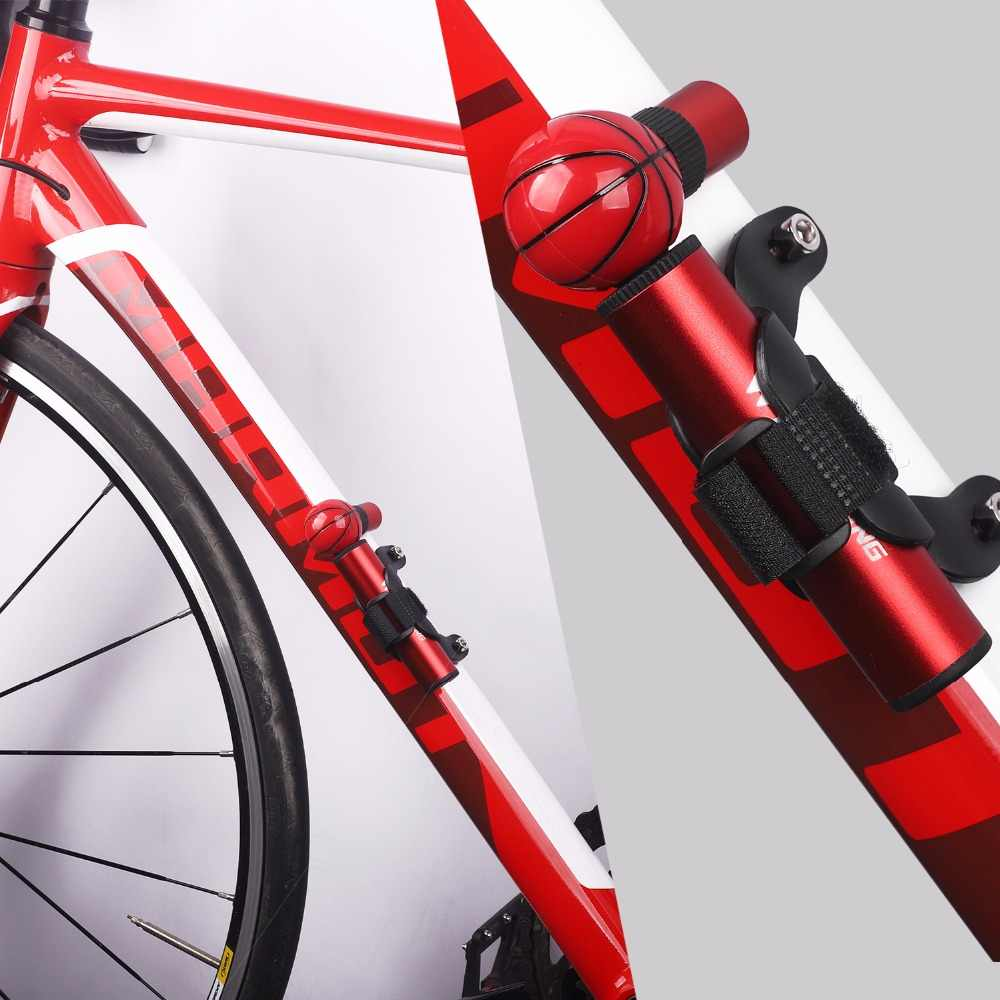 الغربية ركوب 48 جرام البسيطة القدم و السلة دراجة مضخة 90 psi ارتفاع ضغط مضخات mtb دراجة مضخة الهواء المحمولة الاطارات نافخة اليد