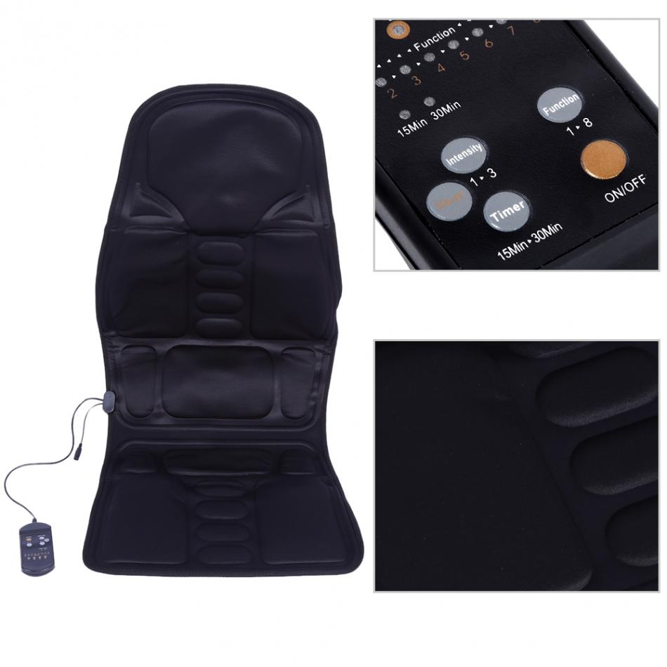 Massage Chair Portable Vehicles Seat Home Office Heated Full-Body Back Neck Lumbar Massage Chair Relaxation Pad Seat Heat burning seat jumping seat sop8 wide body sop8 narrow body sop16 patch direct test seat