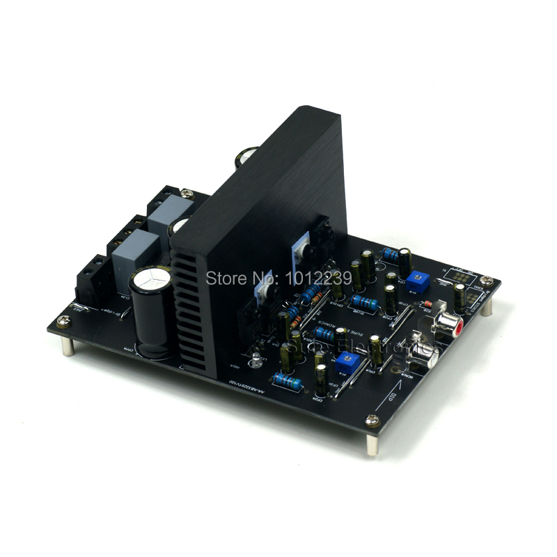2 X 200 Watt Class D Audio Amplifier Board - IRS2092 200W Stereo Power Amp stereo audio amplifier 2 x 40w