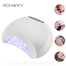 ROHWXY 6/36/48/54/60/72W UV Lamp LED Nail Lamp Nail Dryer For All Gels Polish LCD Display Sun Light Infrared Timer For Manicure