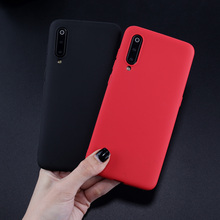 Soft SIlicone TPU Case For Xiaomi Mi 9 Luxury Candy Color Baby Skin Feeling Phone Cover Mi9 Coque