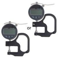 0-12 7mm Elektronische Mikrometer Digitale Dicke Meter Gauge 0 01mm Tiefe Tester