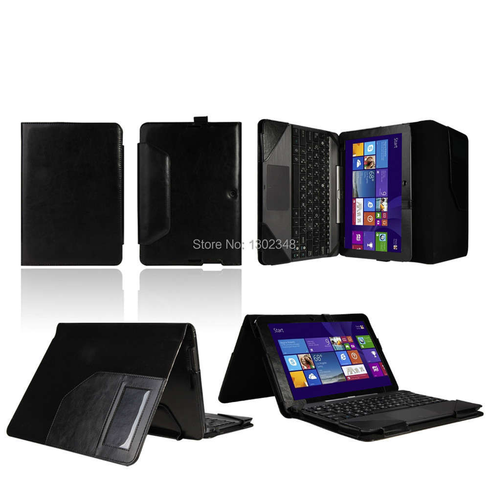 цена на Luxury Crazy Horse Folio Stand PU Leather Case With Keyboard Cover For ASUS Transformer Pad TF103C TF103 10.1 inch 10.1 Tablet