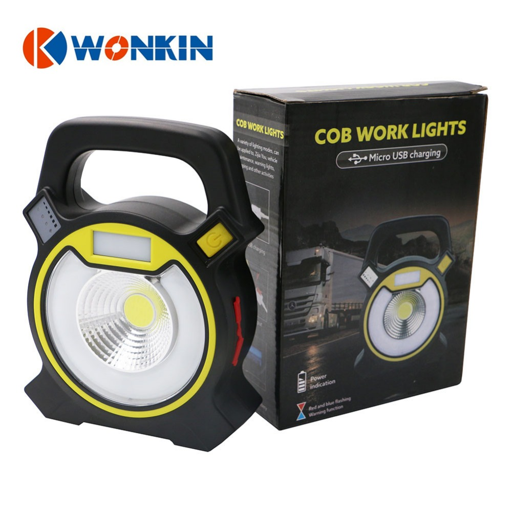 Led Rechargeable Work Light 10w For Garage: 10W Rechargeable Led Portable Lantern Cob Work Light Led