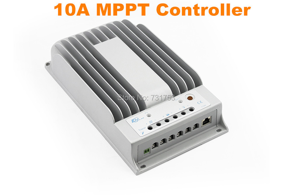 10A 12V 24V New Tracer 1215BN 10 amps MPPT Solar Charge Controller Boost Float Low Charging Voltage Adjustable PC Connect Work 600w mppt power supply module dc 12 90v to 24v 36v 48v 60v 72v adjustable voltage regulator solar controller boost adapter