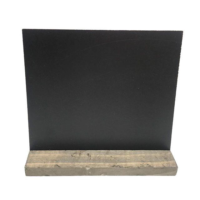 Vintage Wooden Blackboard Shabby Message Wedding Sign Menu Board - how to sign a memo